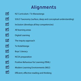 Alignments with current priorities in New Zealand education