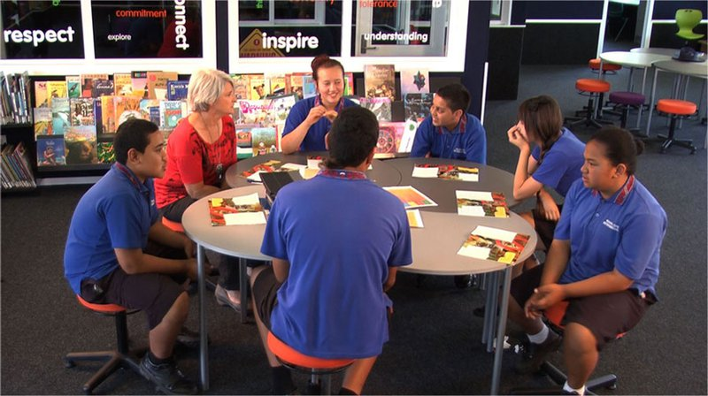 Reciprocal Teaching at Royal Oak Intermediate School
